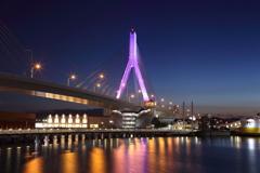 Aomori Purple Bridge