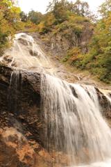 老いて尚の勢い 姥ヶ滝