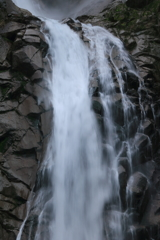 称名滝 四段目滝口