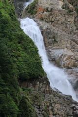 称名滝 三段目