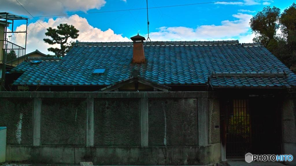 煙突のある平屋