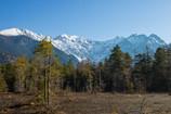 田代池からの山脈