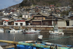 男木島を望む