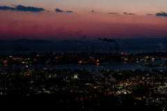水島 工場夜景 2018.2 #3