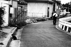 モノクロ猫とモノクロ人間