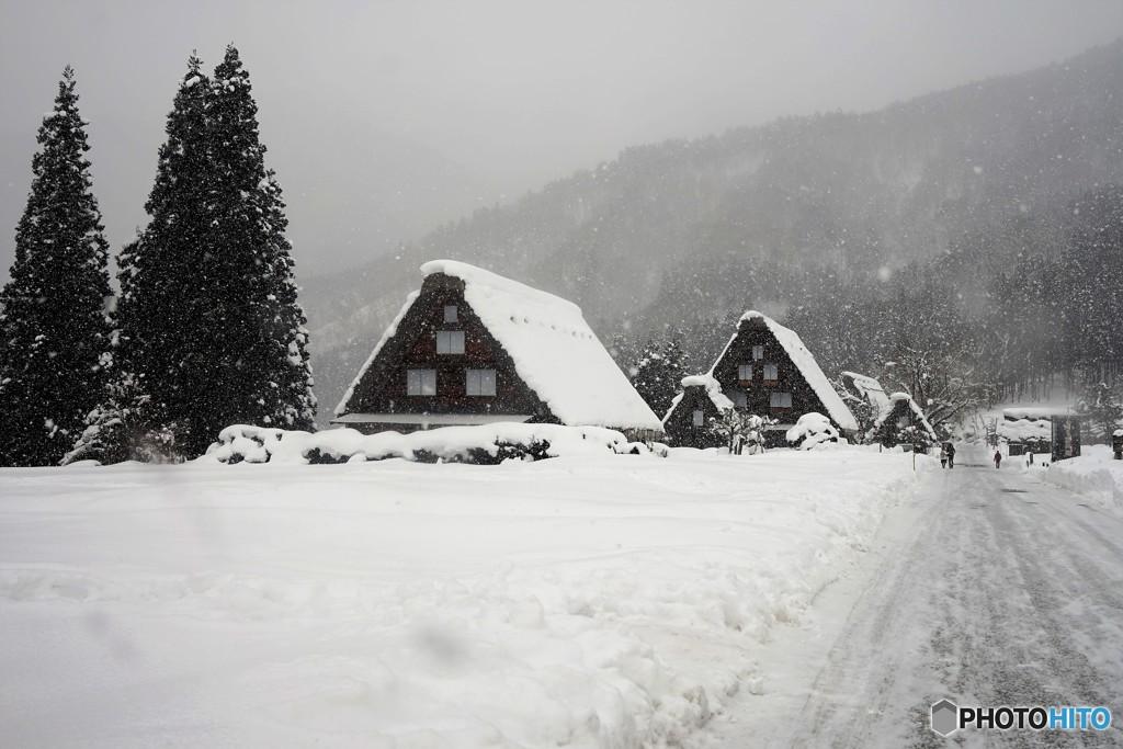白川郷の冬