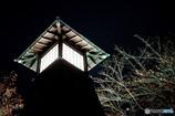 住吉灯台の紅葉1
