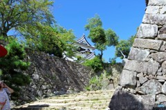 彦根城2(天守閣と青空)