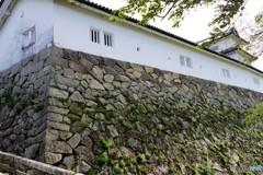 西の丸三重櫓の石垣
