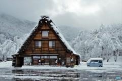 白川郷冬の始まり1