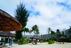 海辺からのホテル