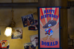 小洒落 …DONALD'S・Happy・Birthday・to・ME!