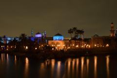 LAND35周年前夜 …ディズニーシー夜の彩