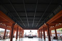 厳島神社 天井