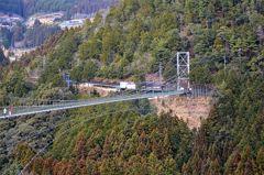 吊り橋(怖くて渡れませんでした)