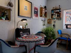 古城のカフェ-3