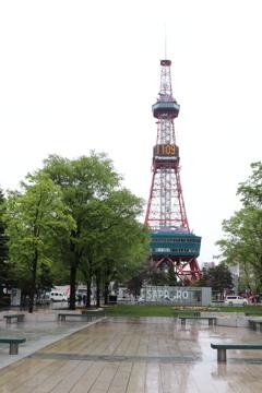 札幌電視台塔!