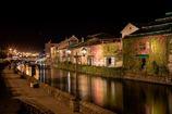 小樽運河の秋色✨