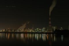 工場夜景✨❶