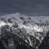 冬の笠ヶ岳