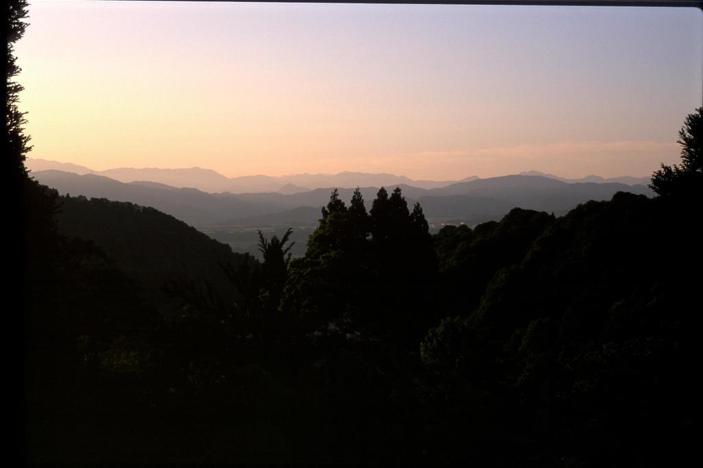 新潟県の朝焼け2002,5,26
