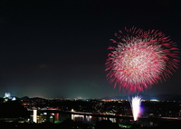 MAMIYA RB67 PROFESSIONAL Sで撮影した(犬山ロングラン花火)の写真(画像)