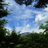 初夏の空と浅間山