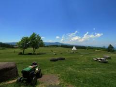 長門牧場からの眺め