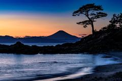 富士山 立石公園にて