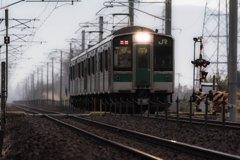 一番列車♪