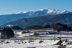 とれいゆつばさと安達太良山