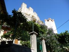 ガルダ湖畔のスカラ城