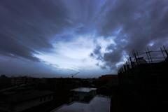 台風21号「目」