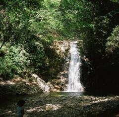品の滝 一の滝