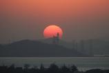 青島の夕日