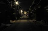 夜の高山三之町
