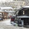 雪の高山三之町