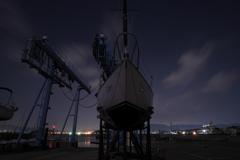ヨットハーバーの夜景2