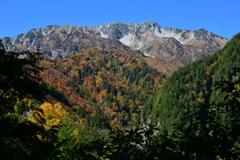 立山の秋。