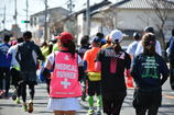 マラソン。
