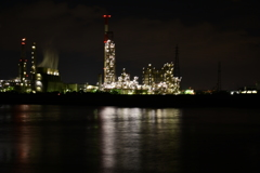 日本四大工場夜景。