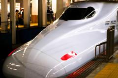 博多から折り返し東京へ