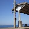 昼間の下灘駅