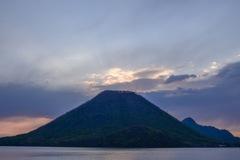 榛名山からの日の出(曇り)
