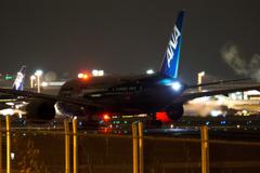 成田空港の夜 その3