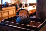 喫茶店の火鉢