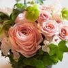 ホワイトデーの花