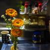 キッチンに花