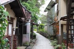 伊豆下田、了仙寺への道