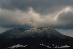 箱根の積雪
